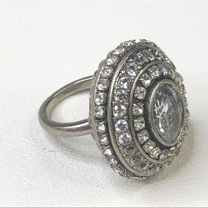 Juicy Couture Large Statement Ring Bling Bling 7